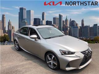 2017 Lexus IS 300 Base Nebula Gray Pearl1 Lcd Monitor In The Front174 Gal Fuel Tank2 12V Dc Po